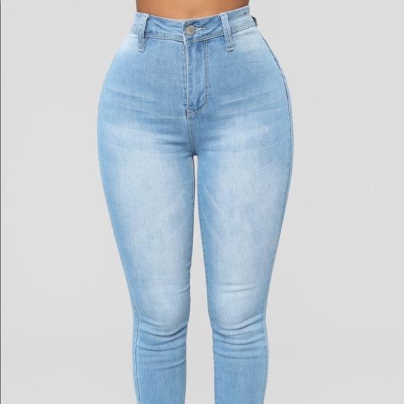 Fashion Nova Denim - High Rise Jeans